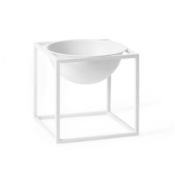 Kubus Bowl lille, hvid