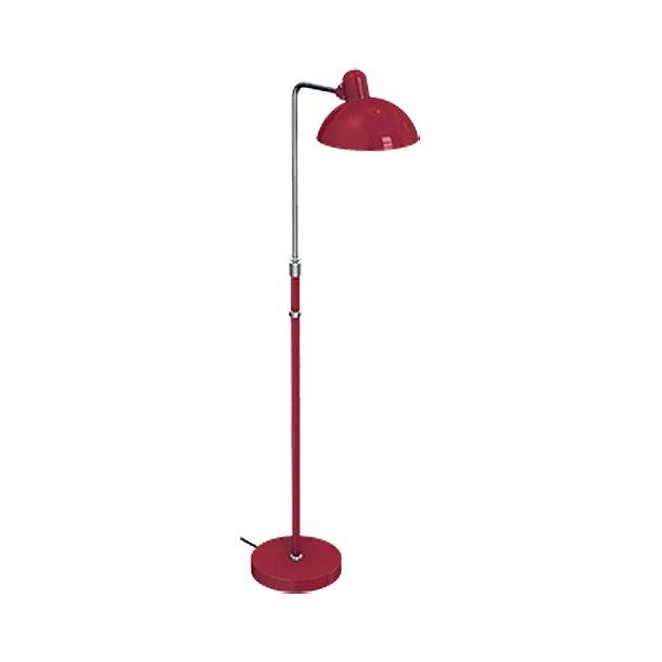 Fritz Hansen Kaiser Idell, Luxus Standerlampe, Rubinrod