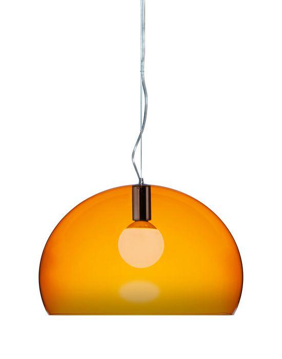 Kartell FL Y pendel lampe, Orange (o52)