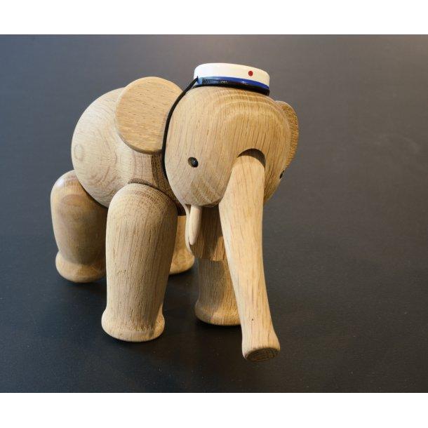 2d9a8e9cce99 Kay Bojesen Elefant med BLÅ studenterhue