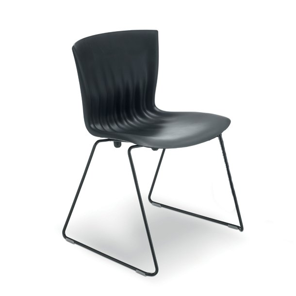 Paustian Ripple Chair, sort