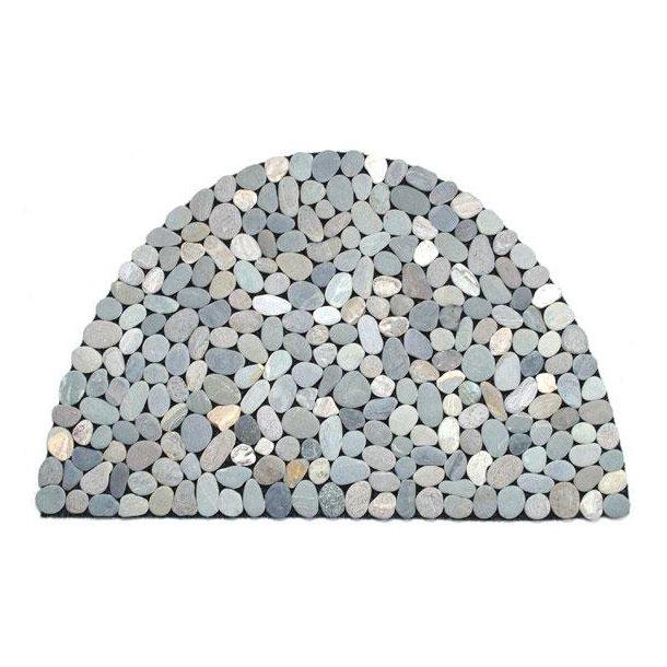 Stonemats Gulvmåtte, halvrund