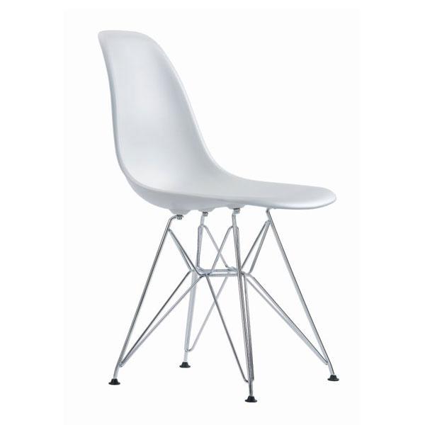 Eames Dsr Stol Hvid Spisebordstol Klassiker Vitra Design