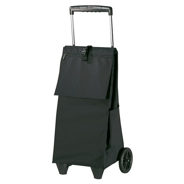 Reisenthel indkøbsvogn, sort canvas