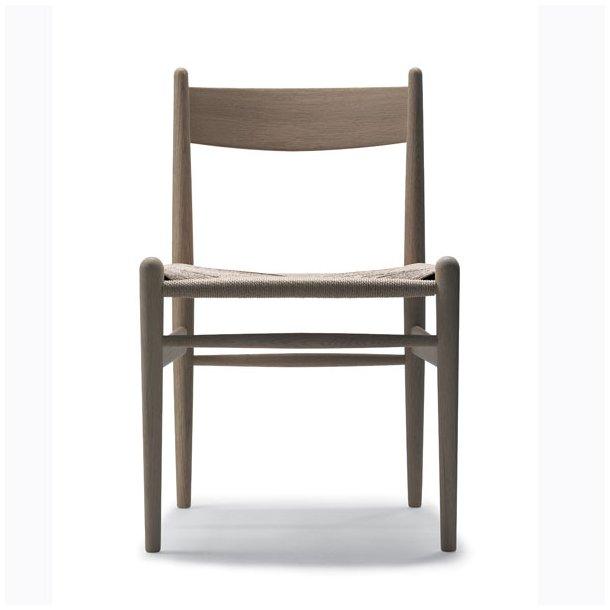 Hans J. Wegner stol Eg/ naturfarvet flet CH36