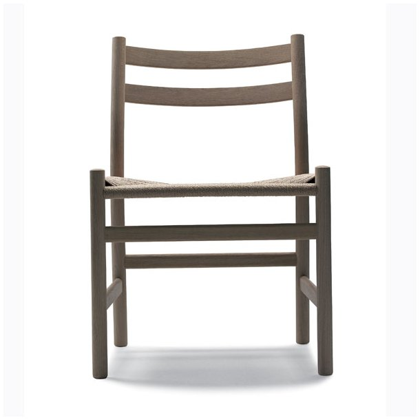 Hans J. Wegner stol Eg/ naturfarvet flet CH47