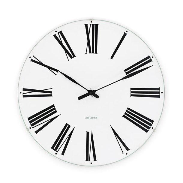 Vægur, Arne Jacobsen, Roman Clock, 21 cm