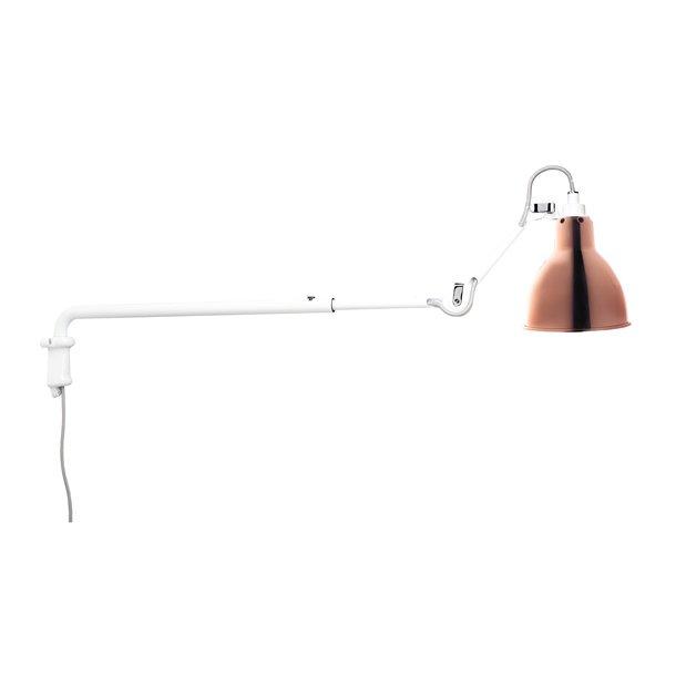 lampe gras n 203 v glampe hvid kobber. Black Bedroom Furniture Sets. Home Design Ideas