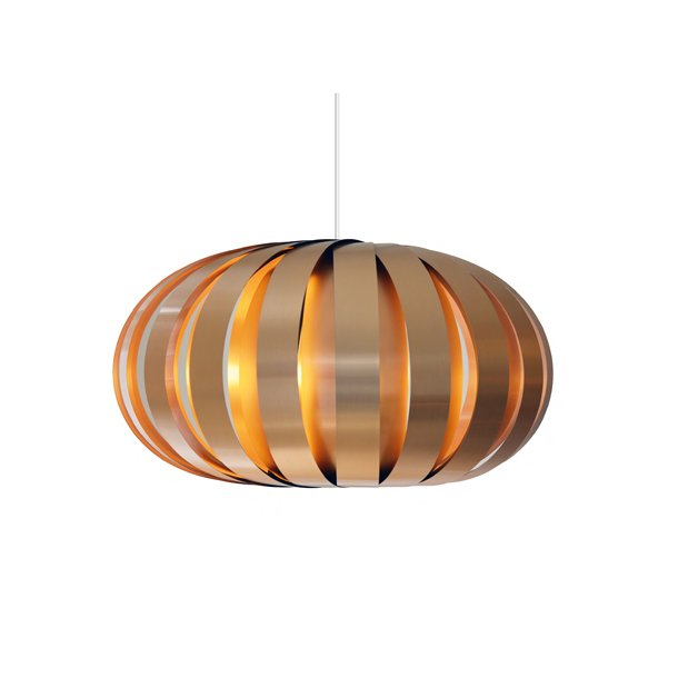 Hjemmelaget Kobber Lampe - Tom Rossau ST907 lampe pendel kobber